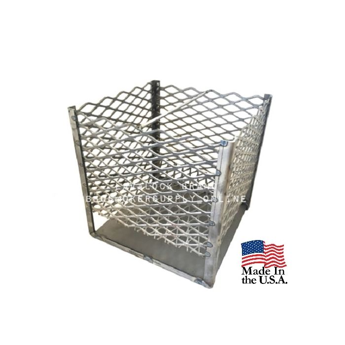 12x12x12 Charcoal Basket with legs and ash pan