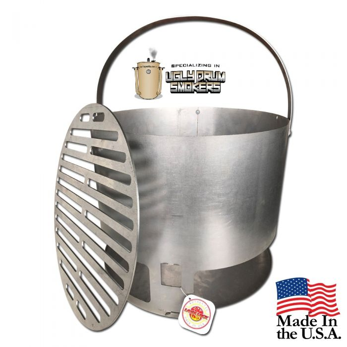 The 14-40™ Charcoal Basket for 55 Gallon UDS - 14
