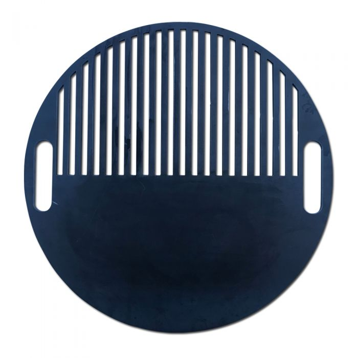 50/50 griddle / grill grate combo for Weber Kettle or UDS Ugly Drum Smoker
