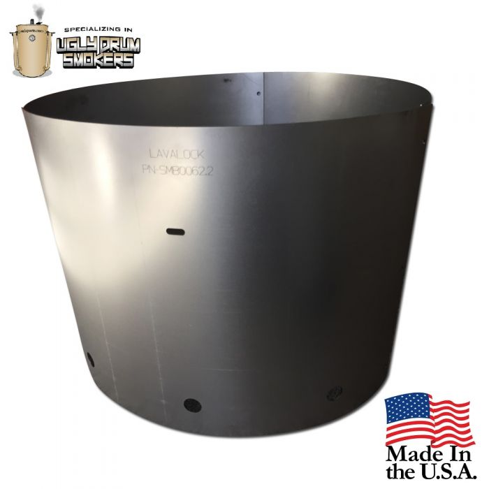 UDS Heat Shield for UDS Drum Smoker Charcoal Basket