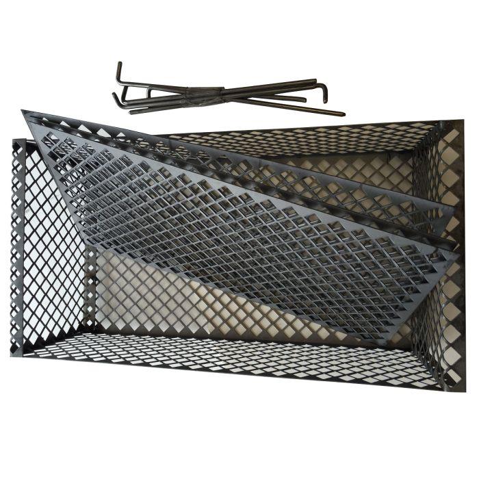 The BBQ Basket (stainless or steel) Hunsaker vertical meat hanging basket