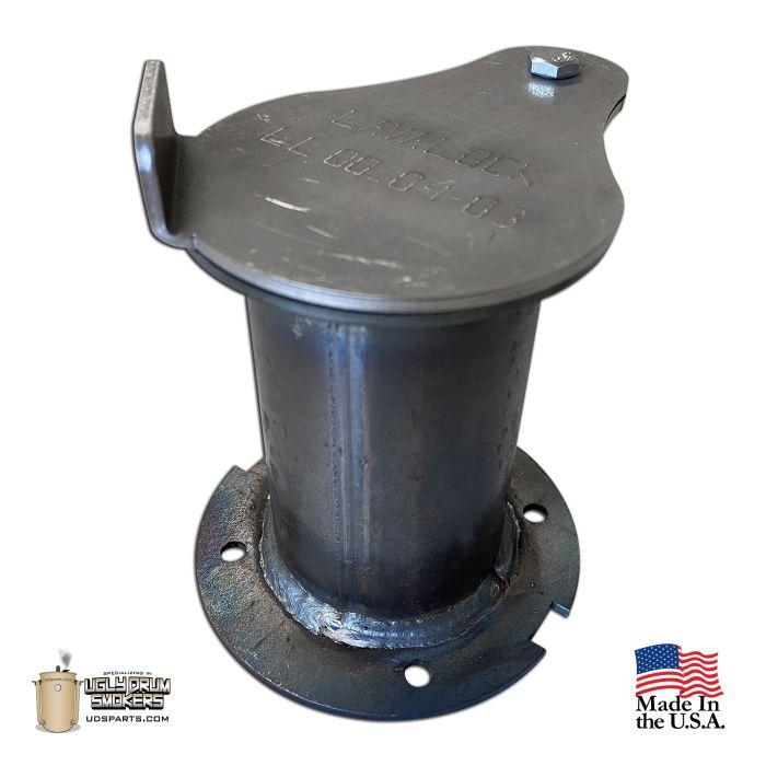 2 inch flanged exhaust uds damper stack