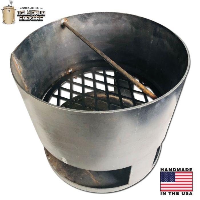 LavaLockⓇ 15-50 TANK™  - Super Duty 10 gauge round charcoal basket for UDS