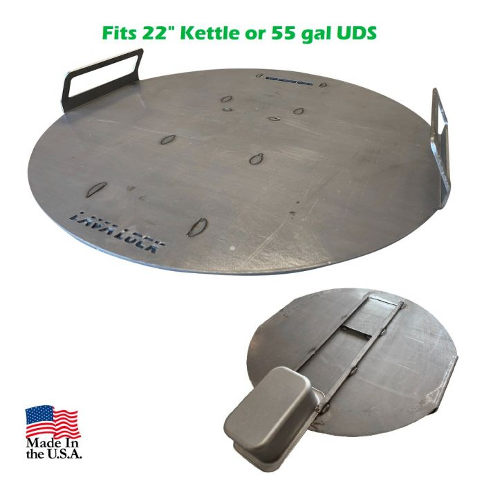 LavaLock® Heavy Duty Flat Top Griddle Plate 22