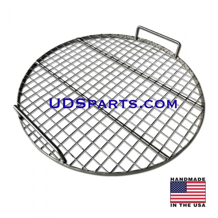 30 - 55 gallon UDS Drum Smoker cooking grate, 18 or 22 inch diameter - STAINLESS STEEL