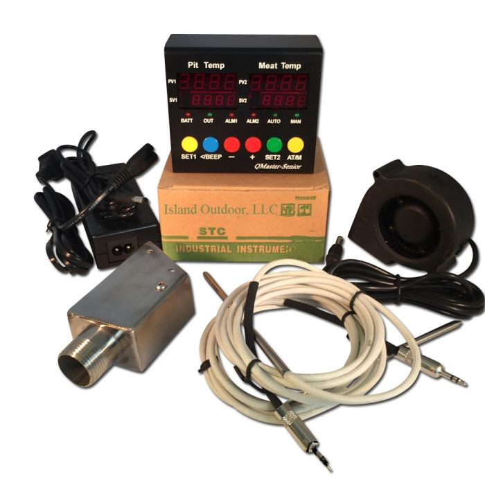 Q Master BBQ Draft Controller for UDS