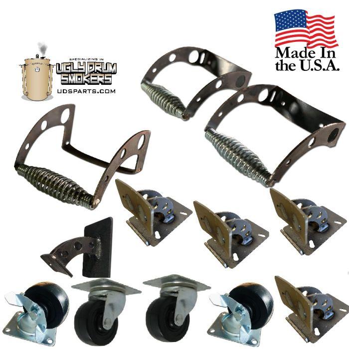 LavaLock® Handle & Caster UDS Exterior Essentials Kit - DrumTex™ Collection