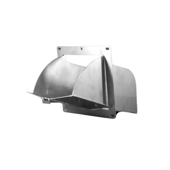 Charcoal Chute Access Door for 55 Gal UDS - Stainless