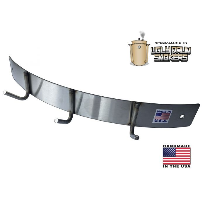 LavaLock® UDS BBQ Tool Accessory Holder - Bolt On Parts - STAINLESS STEEL
