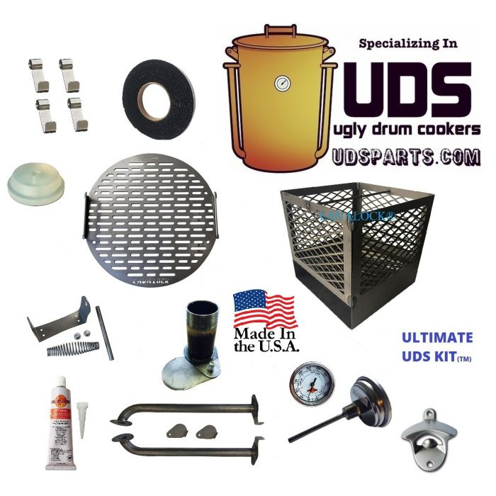 The Ultimate™ UDS Long tube & Laser Cut 55 Gallon Drum Kit