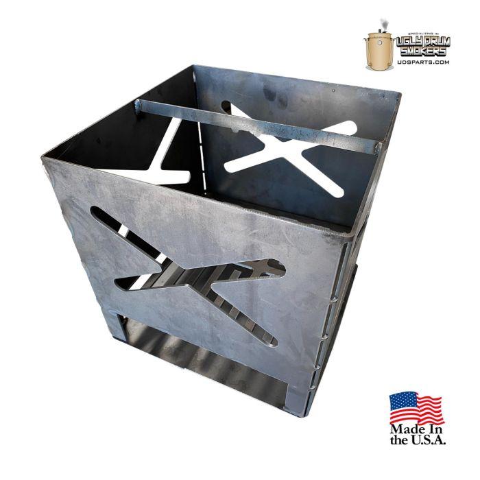 11 Gauge UDS engine Charcoal Basket - 12 x 12 x 12