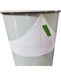 Horizontal ugly drum smoker (HDS) Paper Template